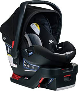 product image for Britax B-Safe 35 Infant Car Seat, Dual Comfort Grey - Moisture Wicking & Cooling Fabric - 1 Layer Impact Protection - LATCH Install
