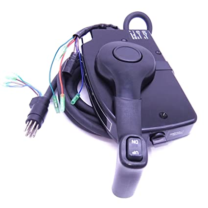 amazon com: 881170a15 boat motor side mount remote control box with 8 pin  for mercury outboard engine pt, right hand: sports & outdoors