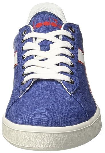 Diadora Game CV, Sneaker Uomo, Blu (Blu Bizantino), 45 EU