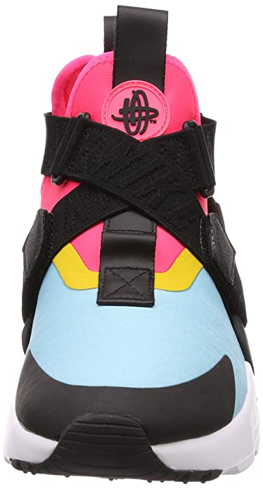 outlet store 6b8cd 1a9dc Nike Womens Air Huarache City Shoe (9 M US, Bleached Aqua Black Racer  Pink)  Amazon.in  Shoes   Handbags