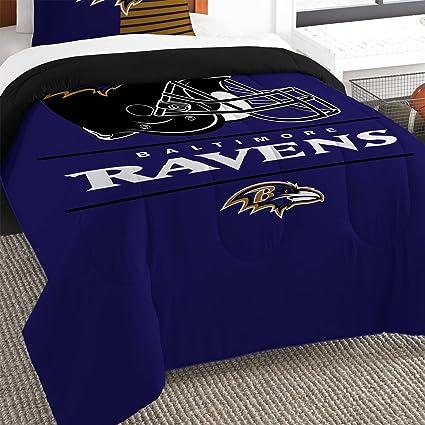 NFL Anthem Baltimore Ravens Bedding Sheet Set Twin