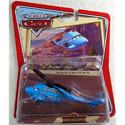Disney / Pixar CARS Movie 1:55 Die Cast Car Oversized Vehicle Dinoco Helicopter [Random Package]: Toys & Games