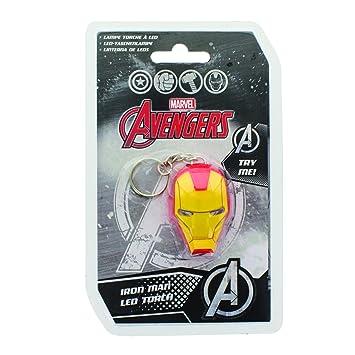Paladone - Iron Man Llavero (PP2982MA): Amazon.es: Juguetes ...
