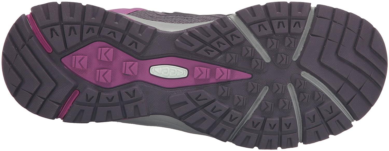 KEEN Women's Aphlex Waterproof Shoe B019FCA7EM 6 B(M) US|Plum/Shark