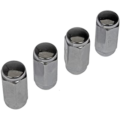 Dorman 711-604 Wheel Nuts, Pack of 4: Automotive