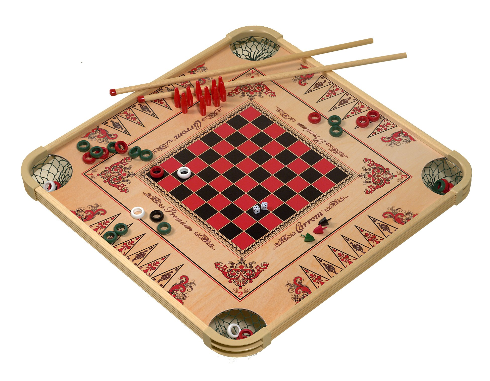 Carrom Game Board Large by Carrom