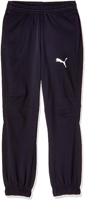 Puma Hose Tricot Pants - Pantalón de chándal de artes marciales para hombre, color azul