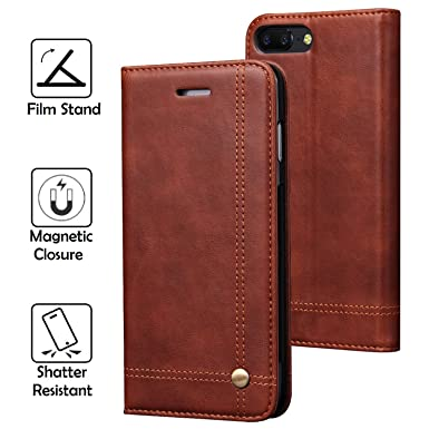 the best attitude 2dd6a b434f REAL-EAGLE OnePlus 5 Case, Oneplus 5 Wallet Case,OnePlus 5 Premium PU  Leather Wallet Protection Case with [Kickstand] [Card Slots] [Magnetic  Closure] ...