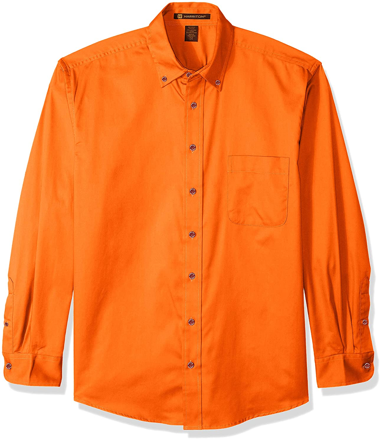 Team Orange 6XL Harritton Mens HART-M500-800-6X-Large