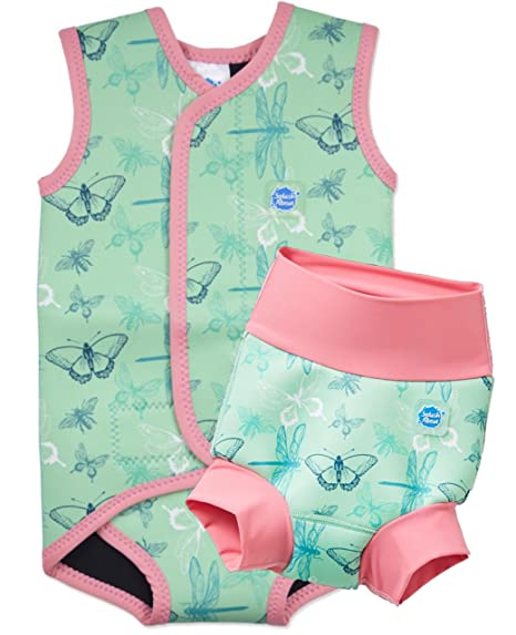 Splash About New Improved Happy Nappy And Matching Babywrap 2 3yrs