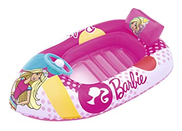 Barca Hinchable Infantil Bestway Barbie Fashion