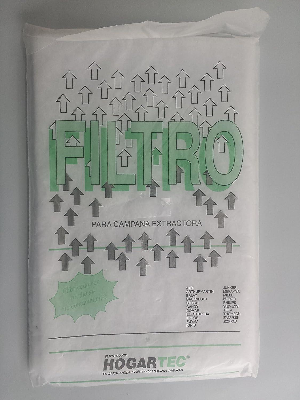 RECAMBIOS DREYMA Filtro Campana Extractor Espuma Manta 60X45: Amazon.es: Hogar