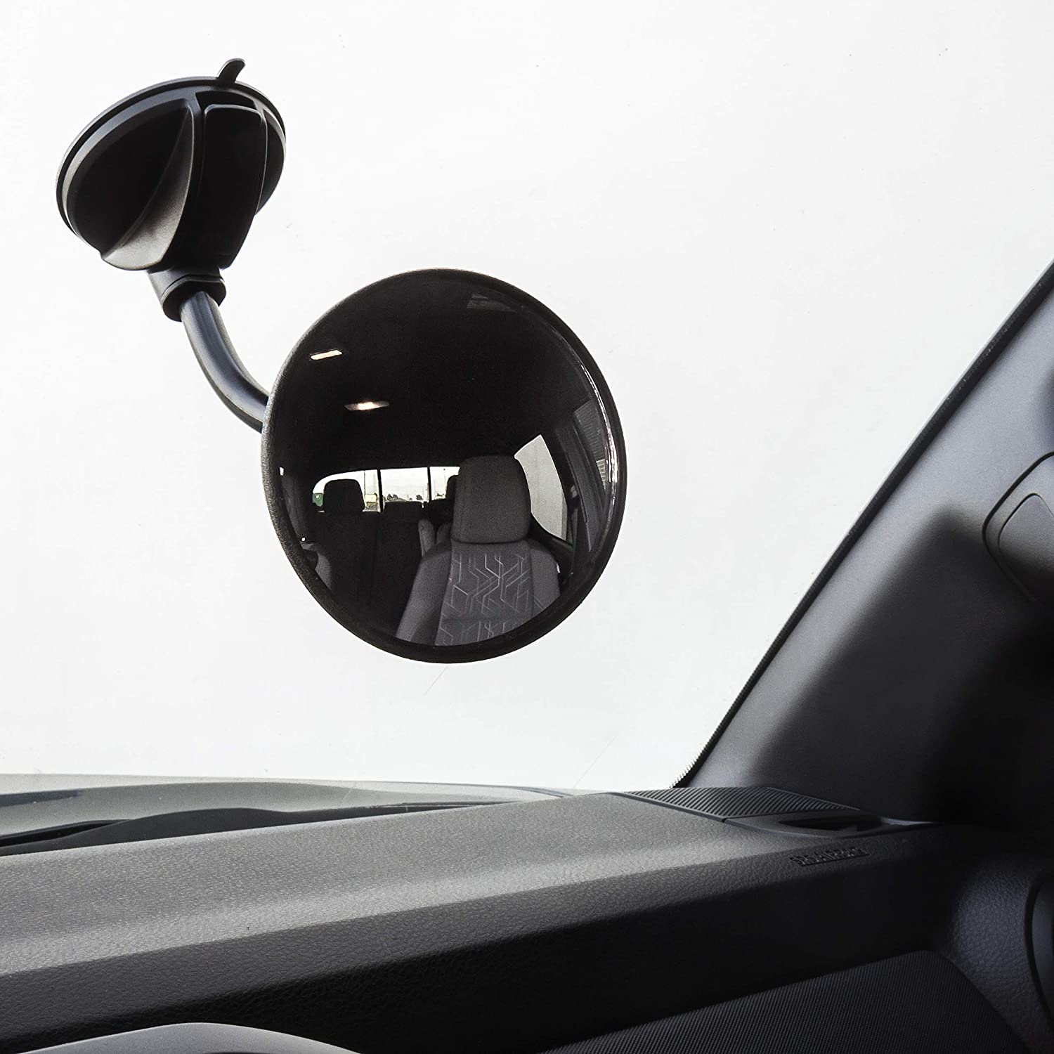 Pilot Automotive MI-442 Convex Baby Mirror with Suction Cup /& Flexible Arm