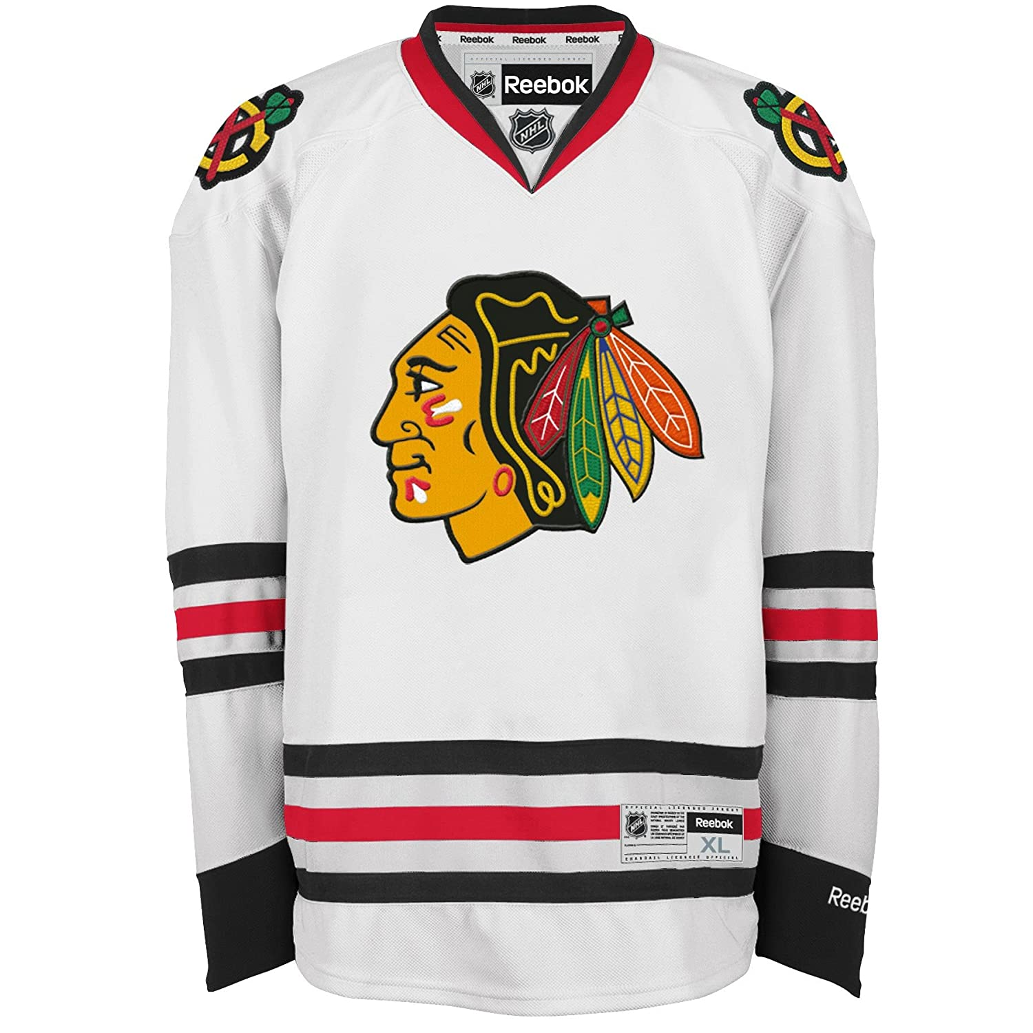 Chicago Blackhawks Reebok Premier Replica Road NHL Hockey Jersey