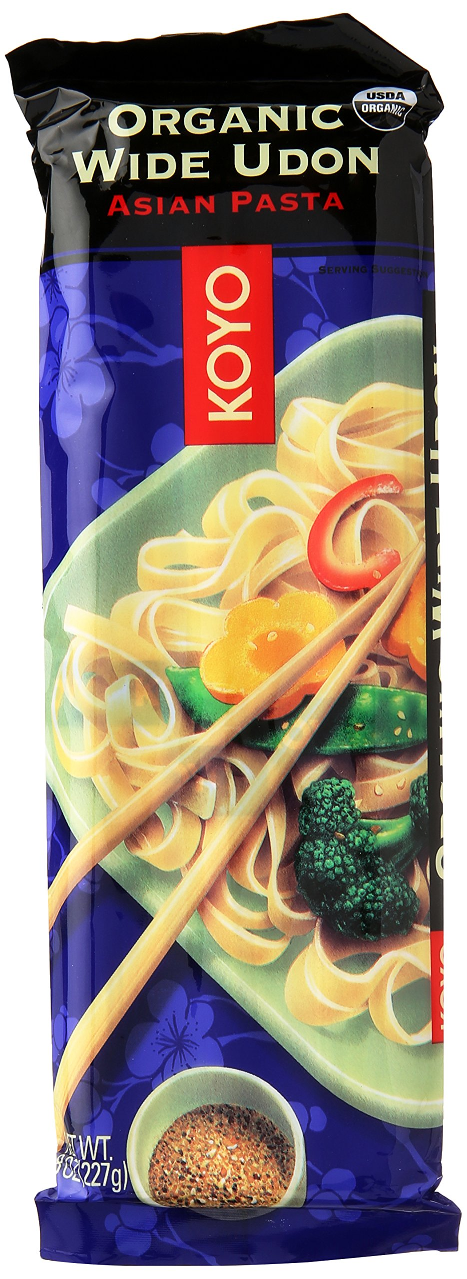 Koyo Organic Wide Udon Pasta, 8 oz