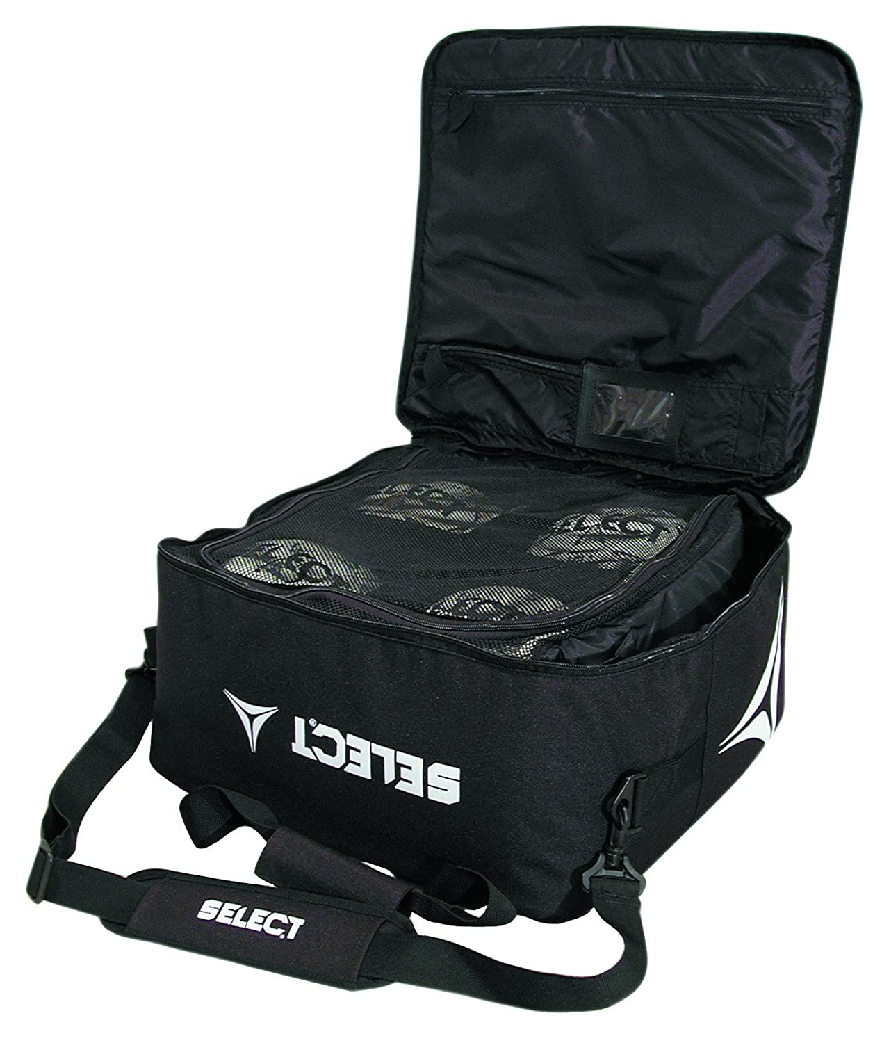 0aa61facc7 Amazon.com : Select Coaches Match Day Ball Bag : Soccer Ball Bags : Sports  & Outdoors