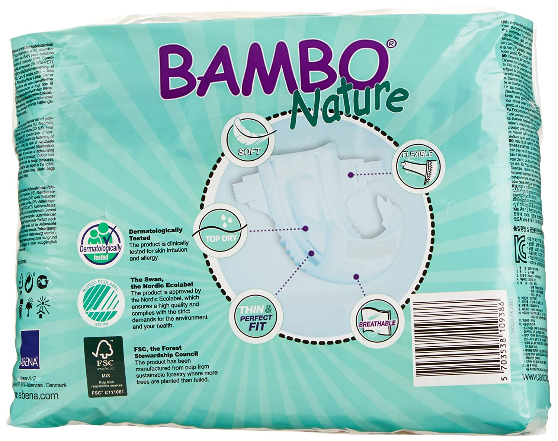 16-30 kg Gr 6 x 22 St/ück 6er Pack 6 Bambo Nature Windeln XL Short