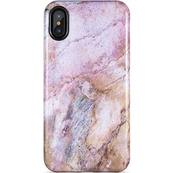 on sale 8fb46 8c998 iPhone X Case,iPhone Xs Case, Pink Marble for Girls,ZADORN Slim Fit Cute  for Women Girls Clear Bumper Soft Silicone TPU Thin Cover Best Protective  ...