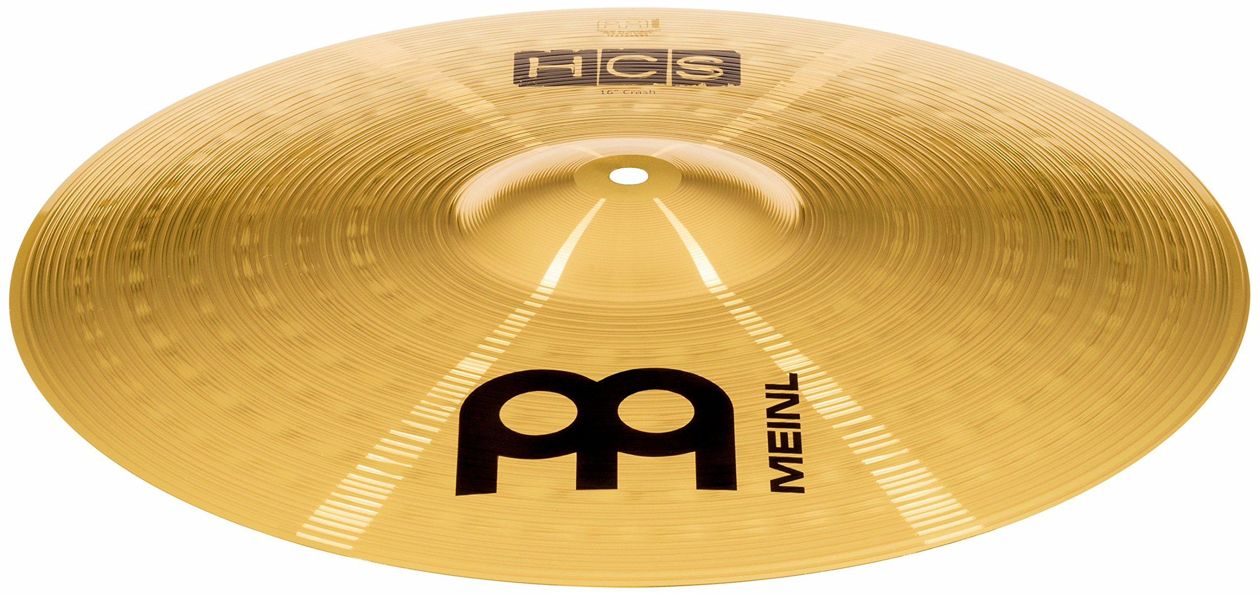 Meinl Cymbals HCS16C 16'' HCS Brass Crash Cymbal for Drum Set (VIDEO) by Meinl Cymbals (Image #3)