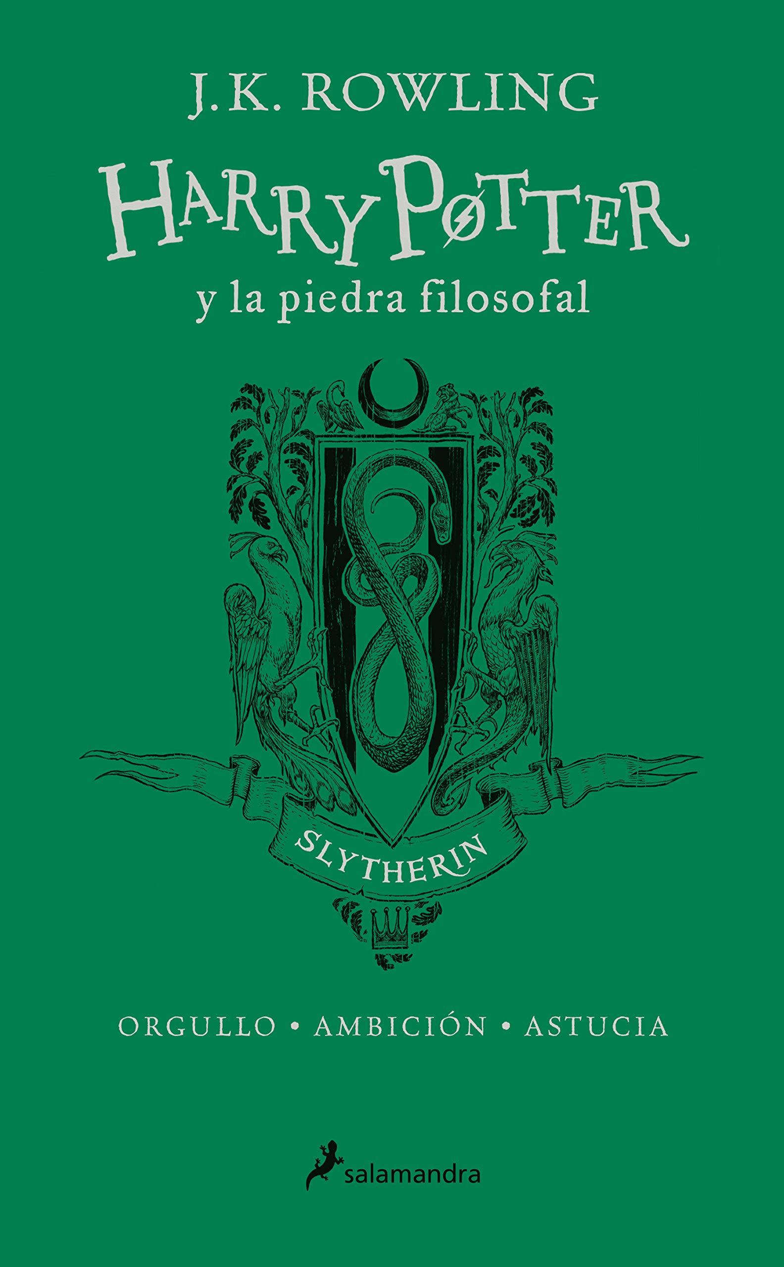 HP y la piedra filosofal-20 aniv-Slytherin: Orgullo · Ambición ...