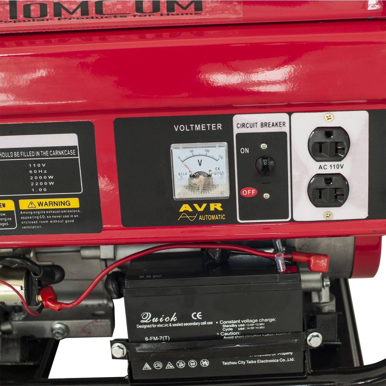 Amazon Hom 5 5HP 2000 Watt 4 Stroke Gas Powered Portable