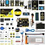 keyestudio(高級版)プログラミング学習教材 UNO R3互換ボード入門キット 科学おもちゃ 知育玩具 ギフト プレゼント mega2560 r3 nanoと互換 Arduino用