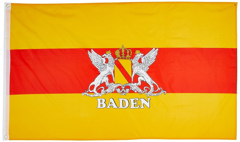 FAHNE//FLAGGE  Großherzogtum Baden    90x150