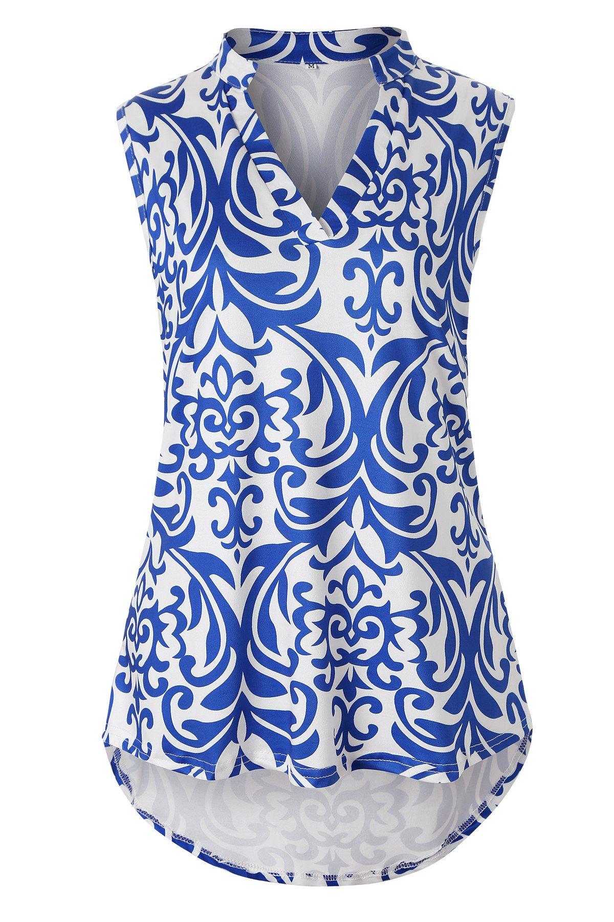 Luranee Zulily Tunics For Women Feminine Work Shirts Sleeveless