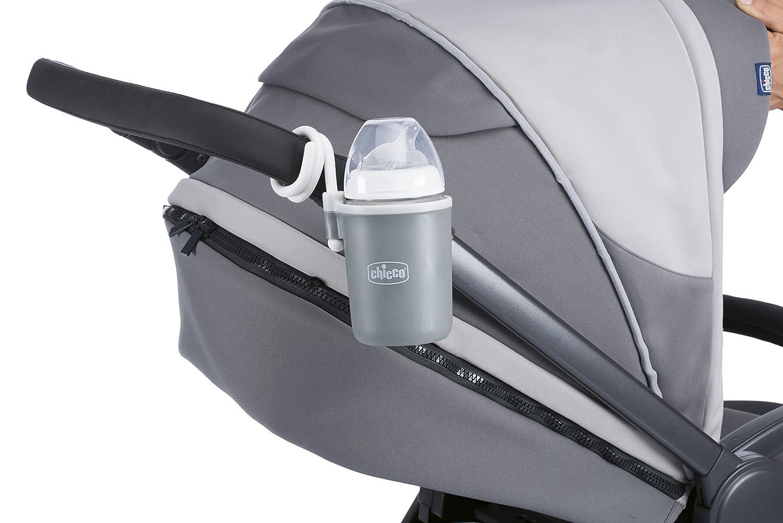 Portavasos para cochecito, de color negro, de la marca Chicco: Amazon.es: Bebé