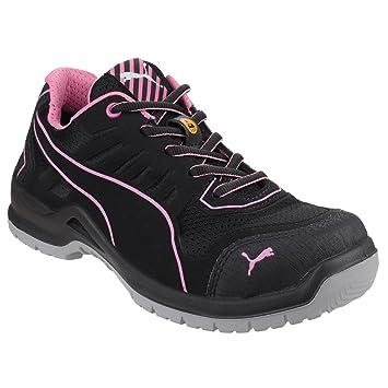 Puma 644110.40 Fuse TC Pink Sicherheitsschuhe für Damen, Low S1P ESD SRC, Größe 40