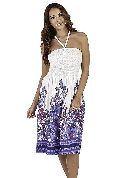 Purple Summer Short Dress