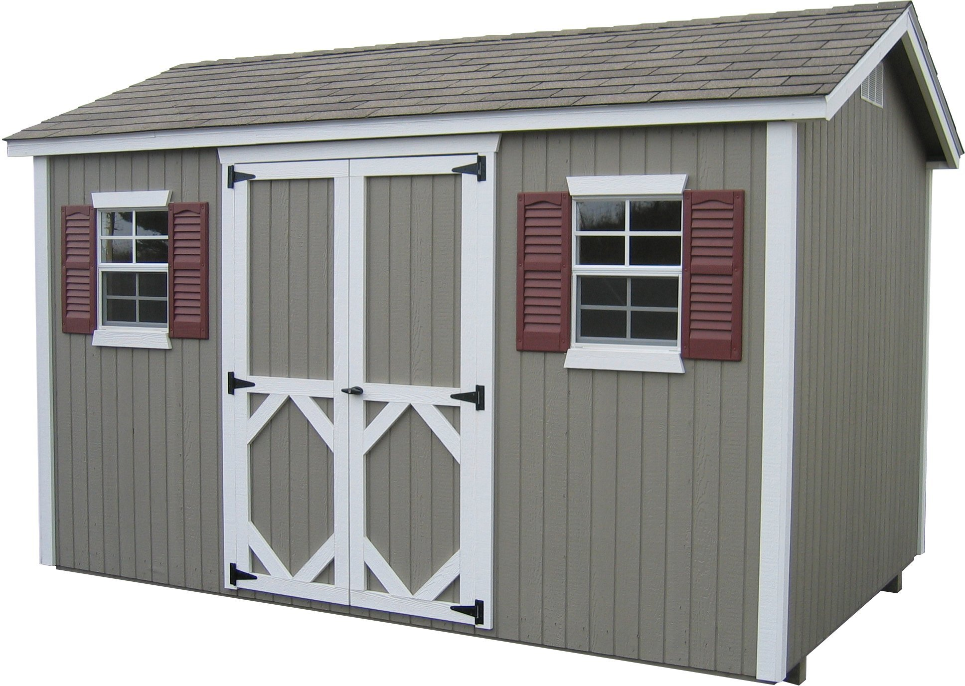 Little Cottage Company Classic Workshop DIY Playhouse Kit, 12' x 16'