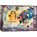 EuroGraphics Gelb Rot Blau by Kandinsky 1000 Piece Puzzle