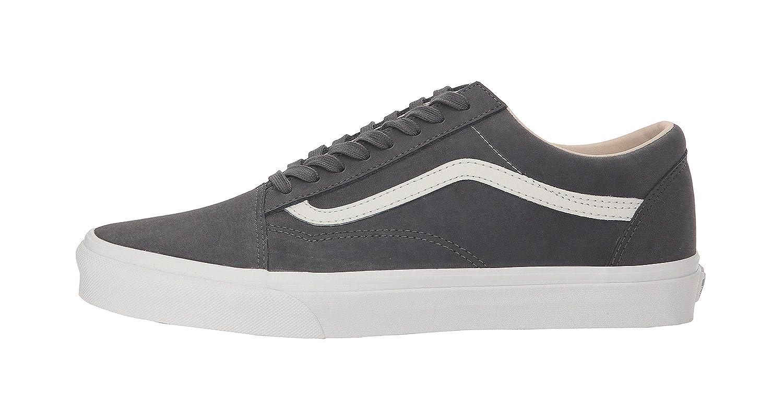 Vans Unisex Vansbuck Old Skool Sneaker B078YBSRRZ 8.5 M US Women / 7 M US Men|Asphalt/Blanc