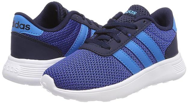 Amazon.com | adidas Lite Racer Kids Boys Sports Trainer Shoe Blue/Navy - US 6 | Shoes