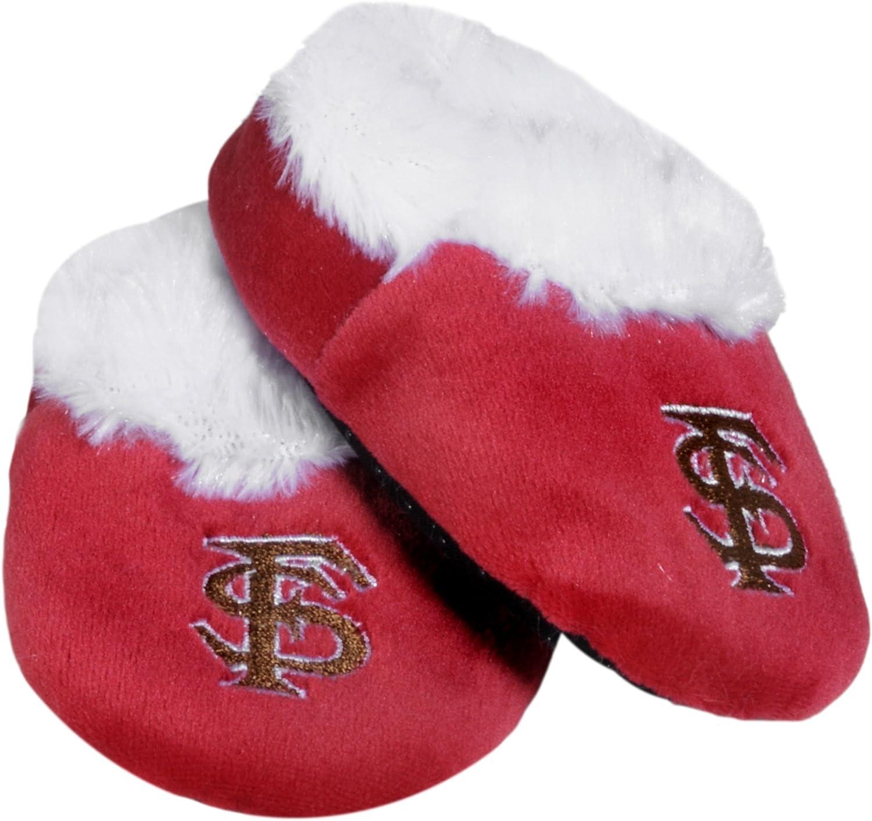 FOCO NCAA Logo Baby Bootie Slipper