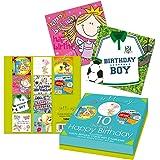 Tallon Just To Say Lot de 10 cartes d'anniversaire pour enfant (en anglais)