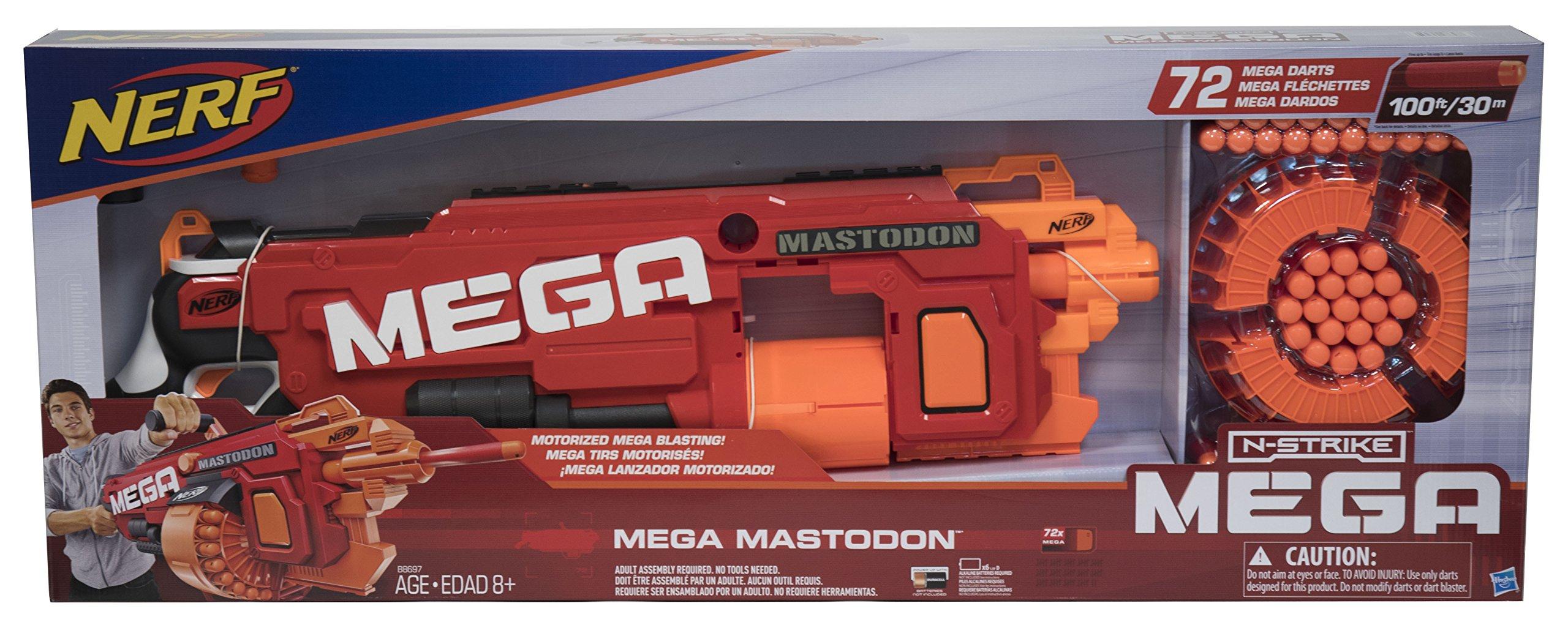Nerf N-Strike Mega Mastodon Mega Blaster and 72 Mega Darts