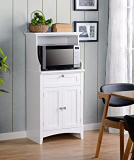 kitchen storage furniture. American Furniture Classics OS Home And Office Microwave Coffee Maker  Utility Cabinet White Amazon Com One Door Kitchen