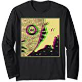 Space Alien Curious Creature Science Fiction Long Sleeve Tee