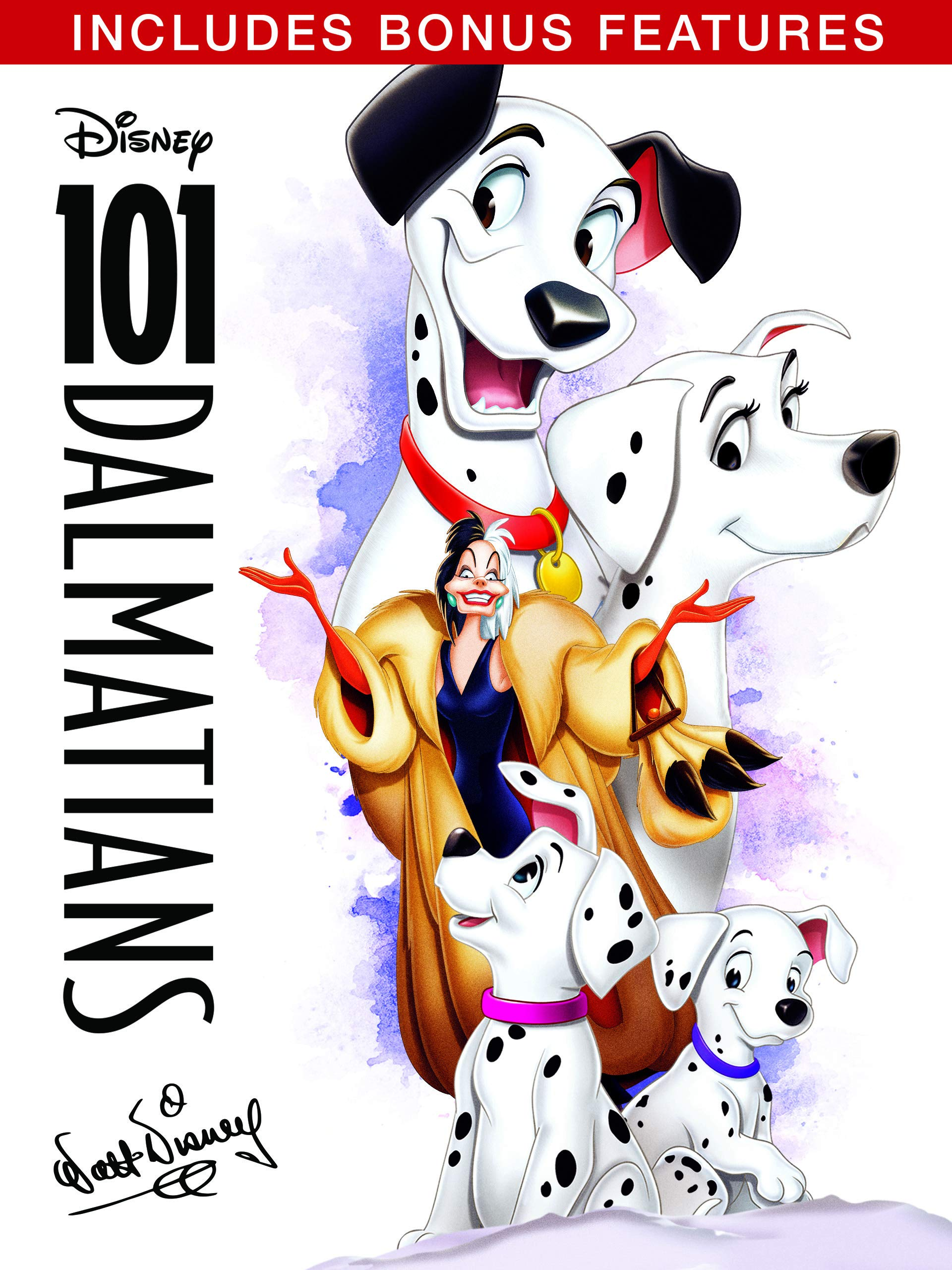 Amazon Com 101 Dalmatians 1961 Plus Bonus Features Rod Taylor Betty Lou Gerson Cate Bauer Ben Wright