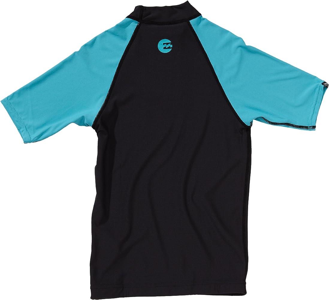BILLABONG Lycra Regular Short Sleeve - Protección para arañazos para Deportes acuáticos, Color Azul, Talla 12: Amazon.es: Ropa y accesorios