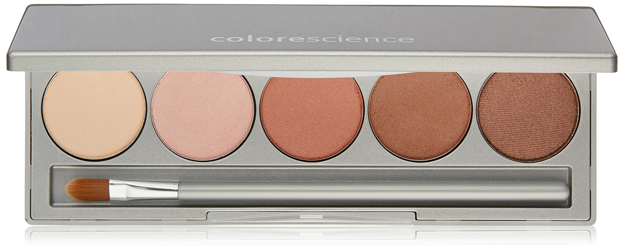 Colorescience Mineral Makeup Palette, Beauty On the Go, 5 Neutralizing Makeup Shades by Colorescience