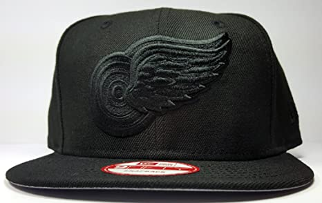 separation shoes 4d0ad a1bf2 ... where can i buy new era detroit red wings 9fifty black black logo  adjustable snapback hat