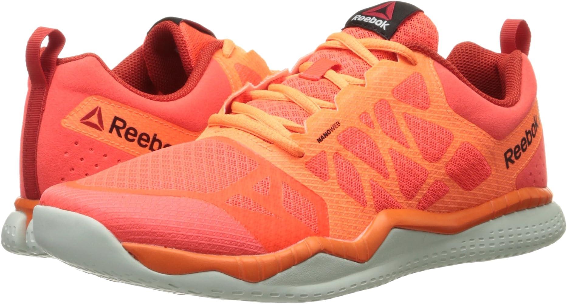 Reebok Zprint tenis para correr para hombre, Rojo (Atomic Rojo ...