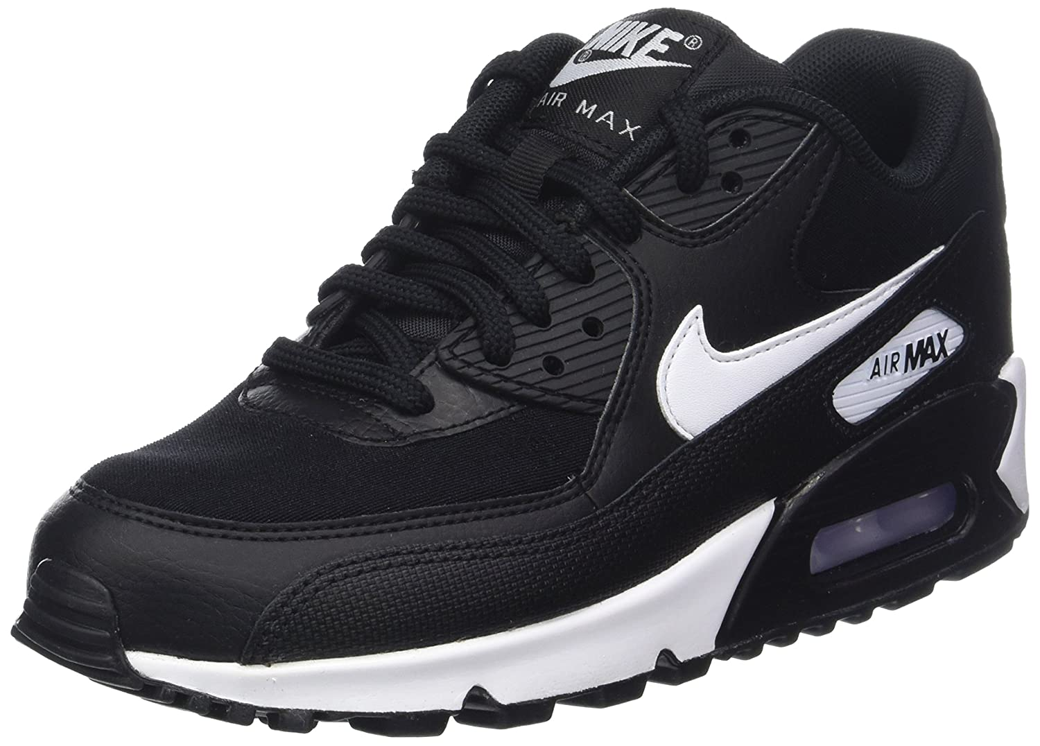 on sale e1aa9 72a70 Nike Air Max 90 Scarpe da Ginnastica Basse Donna  Amazon.it  Scarpe e borse