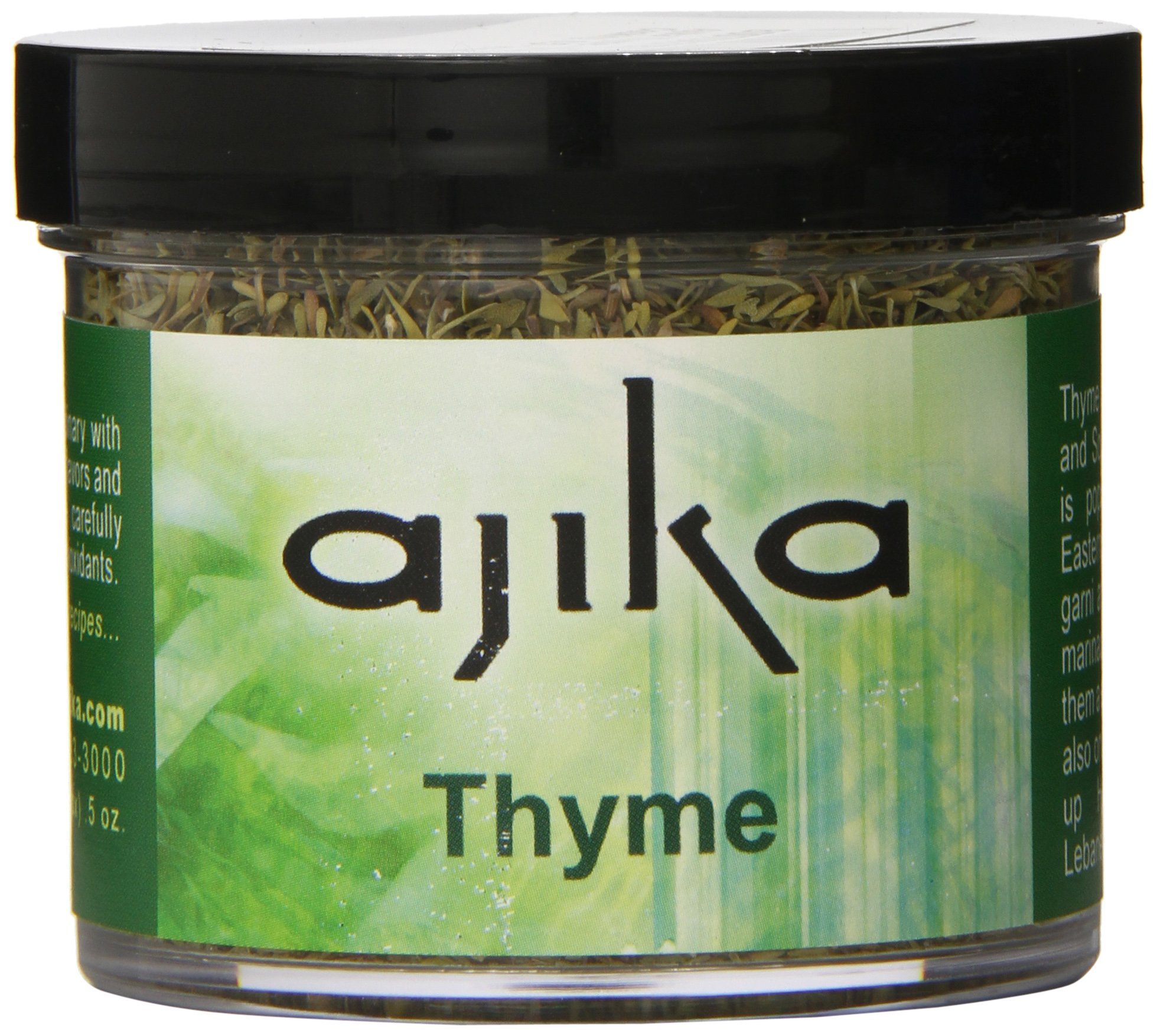 Ajika Thyme - Dried Herbs for Cooking, 0.5-Ounce