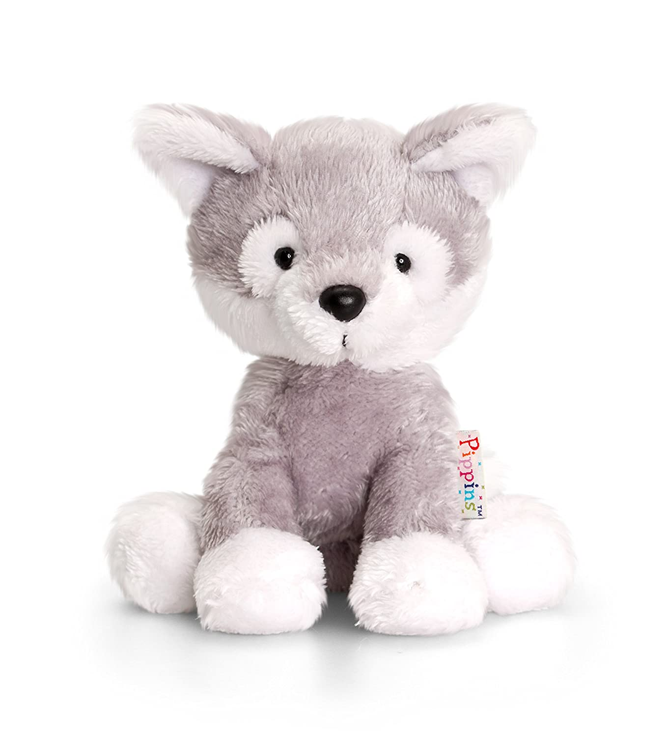 9bd82815bd1c2 Keel Toys 14 cm Pippins Husky  Amazon.co.uk  Toys   Games