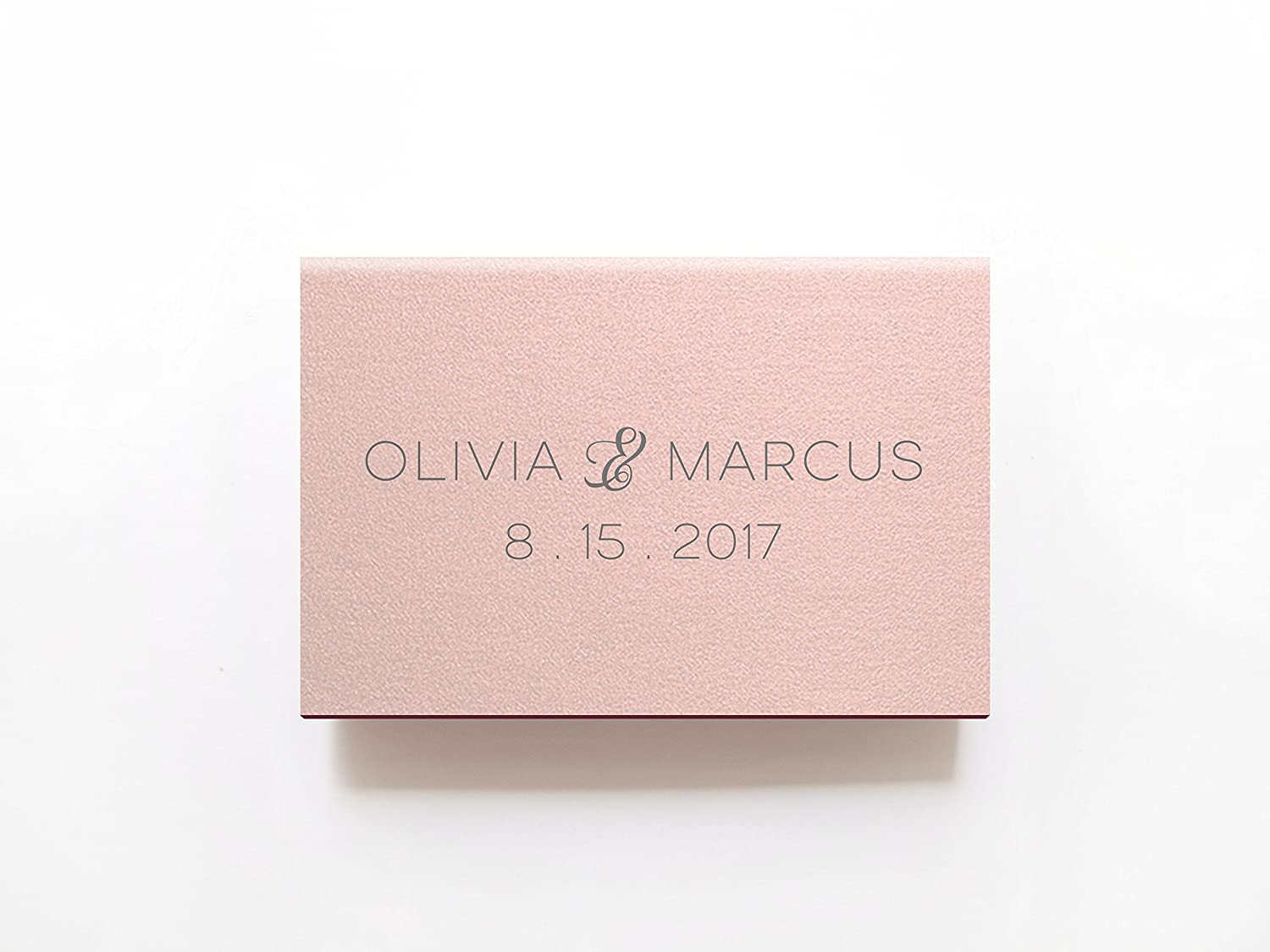 Amazon.com: Cheers Wedding Matchboxes - Personalized Foil ...