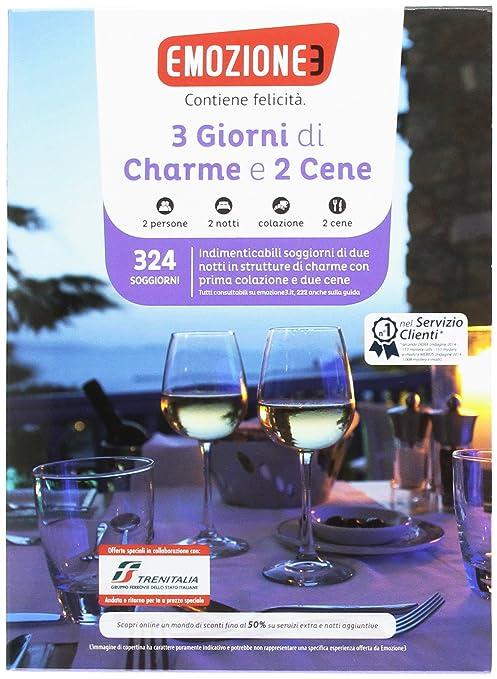 Emozione3 - 3 GIORNI DI CHARME E 2 CENE - Cofanetto Regalo ...